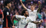 Chấm điểm Real Madrid 2-1 Valencia: Marcelo cứu Ronaldo