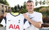CHÍNH THỨC! Gareth Bale và tân binh khác cùng lúc gia nhập Tottenham