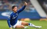 James Rodriguez có pha 'bẻ lái' gây choáng trước vòng 6 Premier League