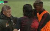 Cavani không hiểu Solskjaer nói gì ở trận ra mắt M.U
