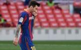 'Tịt ngòi' trước Real, Messi lập kỷ lục tệ hại nhất 15 năm qua