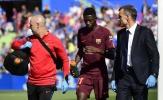 Barca 'mở cờ trong bụng' khi nghe tin về Dembele