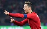 Ronaldo ghi nhiều hơn Messi 20 bàn ở cấp đội tuyển