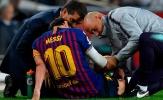 Barcelona xác nhận tình hình chấn thương của Lionel Messi