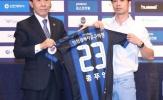 CHÍNH THỨC: Công Phượng ra mắt CLB Incheon United