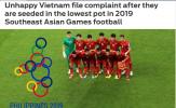 Báo châu Á: Việt Nam có cơ sở để khiếu nại nhóm hạt giống SEA Games 30