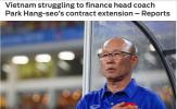 Báo châu Á: Việt Nam đang làm hết sức để giữ chân HLV Park Hang-seo