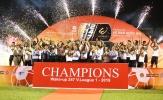CLB Hà Nội lập cú đúp danh hiệu: Đơn giản là... vô đối!