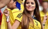Dàn mỹ nhân đẹp trên khán đài trận Ba Lan và Colombia