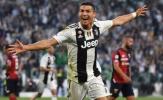 Ronaldo cười nhạt dạy cách ghi bàn cho Vua phá lưới Serie A