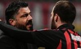 Gattuso: 'Có thể Higuain đang diễn kịch'
