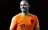Người đại diện sốc khi nghe tin Sneijder giải nghệ