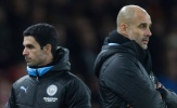 Man City bị UEFA trừng phạt, Arteta công khai điều đã làm với Pep Guardiola