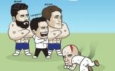 Cười vỡ bụng với loạt ảnh chế Chelsea thắng Tottenham