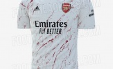 Lộ áo sân khách mùa tới, fan Arsenal chung cảm xúc