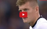 Toni Kroos lấn át Paul Pogba trong trận Đức 0-2 Pháp
