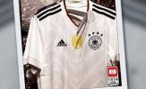 Lộ áo đấu mới của nhà đương kim vô địch thế giới Đức
