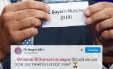 Cực sốc: Bayern biết trước việc gặp Arsenal?