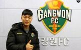 Những hình ảnh độc đáo của Xuân Trường ở Gangwon FC