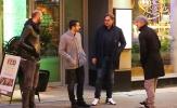 Chùm ảnh: Buổi 'hẹn hò' giữa đêm của Ibrahimovic và Mkhitaryan