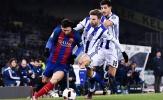 Chùm ảnh: Đánh bại Sociedad, Barca đặt một chân vào bán kết