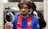 Rivaldo cải trang tái xuất sân cỏ