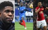 Pogba lĩnh xướng đội hình sao trẻ sáng giá của tuyển Pháp