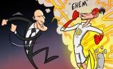 Biếm họa: Bale trở lại - lợi hại như xưa