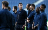 Dàn sao Juventus lịch lãm tham quan Dragao trước giờ chiến