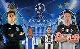 TRỰC TIẾP Porto vs Juventus: Mandzukic và Higuain sánh bước trên hàng công (Đội hình chính thức)