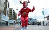 Chùm ảnh: Những chú 'Quỷ nhỏ' xinh xắn đã có mặt tại Wembley