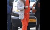 Chùm ảnh: 'Nữ hoàng UFC' Rousey mặc áo bê bết máu trong trại giam