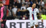 Memphis Depay lập siêu phẩm từ giữa sân giúp Lyon hủy diệt Toulouse