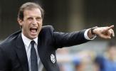 Juventus không sút lấy 1 lần, Allegri giận sôi máu
