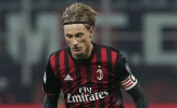 CHÍNH THỨC: Đội phó AC Milan nghỉ hết mùa