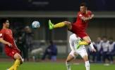 Chùm ảnh: Gã đầu bạc tung độc chiêu, Trung Quốc le lói hy vọng World Cup