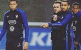 Griezmann sợ mất suất chính thức vào tay Kylian Mbappe