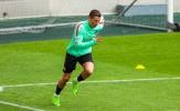 Ronaldo liên tục khoe tốc độ trong buổi tập của Bồ Đào Nha