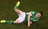 Chùm ảnh: Coleman gãy chân kinh hoàng khi đối đầu Gareth Bale