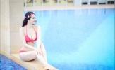 Hoa hậu, cựu võ sĩ Cao Thùy Dương cực nóng bỏng qua đồ bikini