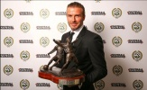 Beckham đẹp 'mê mệt' đi lãnh giải ở tuổi 41