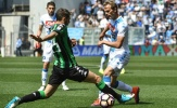 Bị Sassuolo níu chân, Napoli lỡ cơ hội bám đuổi Roma