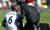 Pogba chấn thương, nguy cơ lỡ derby Manchester