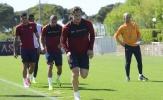 Roma tích cực tập luyện cho thời khắc 'đá' Pescara xuống Serie B