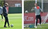 Thua Crystal Palace, Liverpool 'nặng nề' trở lại tập luyện