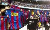 Chùm ảnh: Camp Nou tri ân Messi, Barca thắng đậm Osasuna
