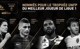 PSG thống trị giải thưởng cá nhân Ligue 1