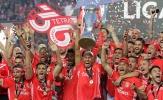 NÓNG: Benfica đăng quang tại Bồ Đào Nha