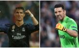 Tranh cãi Ronaldo hay Buffon xứng đáng giành Quả bóng vàng