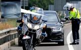 Pique bị cảnh sát 'hỏi thăm' vì lái xe quá tốc độ